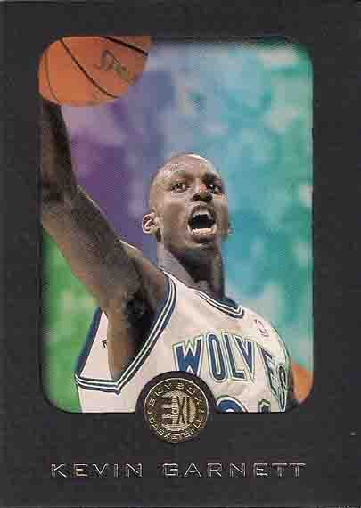 Kevin Garnett Rookie Cards and Autograph Memorabilia Guide 2
