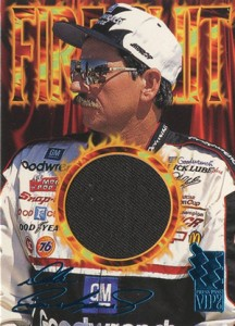 1996 Press Pass VIP Autographs Dale Earnhardt 2