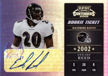 Contenders Football Rookie Ticket Autographs Visual History: 1998-2017 5
