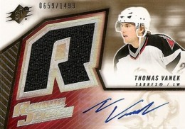 2005-06 SPx Thomas Vanek RC