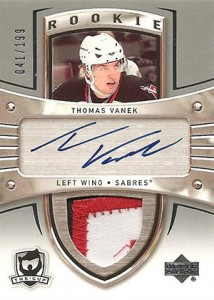 2005-06 Upper Deck The Cup Thomas Vanek RC
