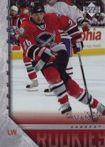 2005-06 Upper Deck Thomas Vanek RC