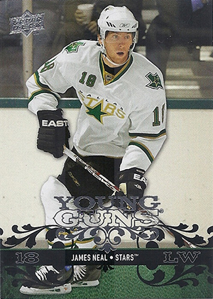 James Neal Cards and Memorabilia Guide 2