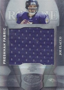 Joe Flacco Rookie Cards - 2008 Leaf Certified Materials Joe Flacco RC
