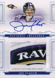 2008 Playoff National Treasures Joe Flacco RC