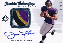 2008 SP Authentic Joe Flacco RC