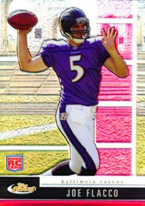 2008 Topps Finest Joe Flacco RC