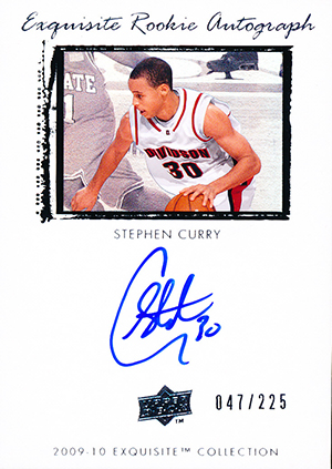 Stephen Curry Rookie Cards and Autograph Memorabilia Guide 2