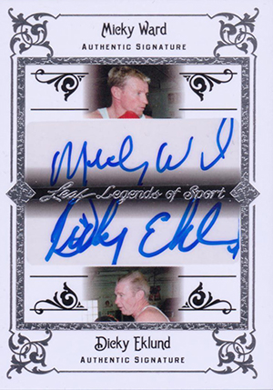 2012 Leaf Legends of Sport Trading Cards 7