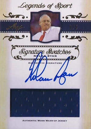 2012 Leaf Legends of Sport Trading Cards 11