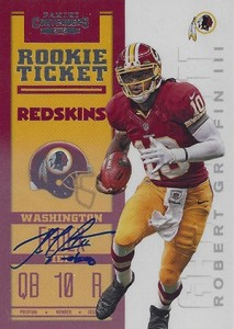 2012 Panini Contenders Football Rookie Ticket RPS Autographs Guide 2