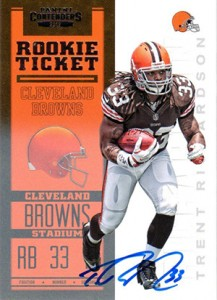 2012 Panini Contenders Football Rookie Ticket RPS Autographs Guide 3