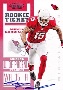 2012 Panini Contenders Football Rookie Ticket RPS Autographs Guide 8