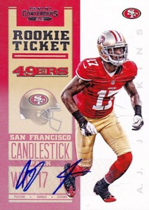 2012 Panini Contenders Football Rookie Ticket RPS Autographs Guide 10