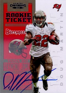 Doug Martin Rookie Cards Checklist and Guide 6