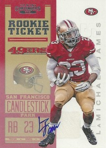 2012 Panini Contenders Football Rookie Ticket RPS Autographs Guide 16