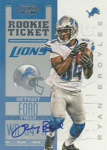 2012 Panini Contenders Football Rookie Ticket RPS Autographs Guide 18