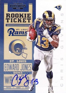 2012 Panini Contenders Football Rookie Ticket RPS Autographs Guide 21