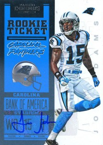2012 Panini Contenders Football Rookie Ticket RPS Autographs Guide 22