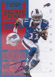 2012 Panini Contenders Football Rookie Ticket RPS Autographs Guide 23