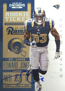 2012 Panini Contenders Football Rookie Ticket RPS Autographs Guide 24