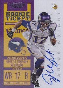 2012 Panini Contenders Football Rookie Ticket RPS Autographs Guide 25