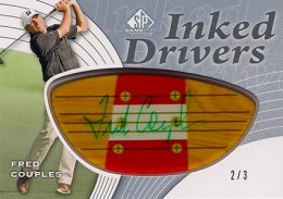 2012 SP Game Used Inked Drivers Persimmon Dark Fred Couples 260x183 Image