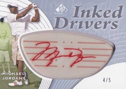 2012 SP Game Used Inked Drivers Red Michael Jordan 260x183 Image