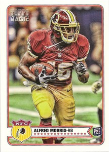 2012 Topps Magic Alfred Morris RC