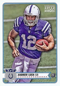 2012 Topps Magic Andrew Luck RC