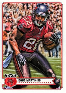 Doug Martin Rookie Cards Checklist and Guide 28