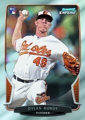 2013 Bowman Chrome Baseball Cards 3