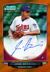 2013 Bowman Chrome Baseball Cards 6