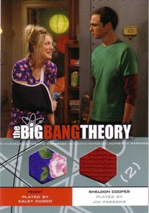 2013 Cryptozoic Big Bang Theory Seasons 3 and 4 Dual Wardrobe DM-01
