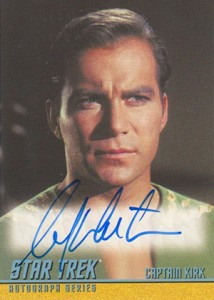 2013 Star Trek TOS Heroes and Villains Autographs A269 William Shatner