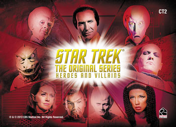 2013 Rittenhouse Star Trek: TOS Heroes and Villains Trading Cards 8