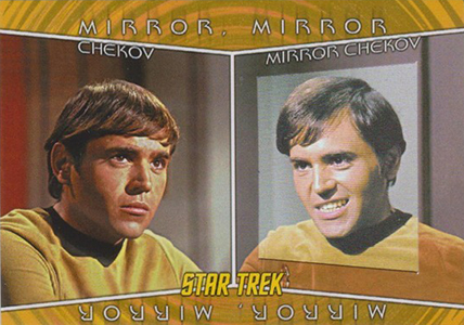 2013 Rittenhouse Star Trek: TOS Heroes and Villains Trading Cards 5