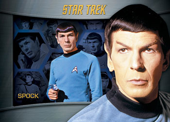 2013 Rittenhouse Star Trek: TOS Heroes and Villains Trading Cards 6