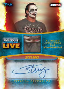 2013 Tristar TNA Impact Live Wrestling Cards 26