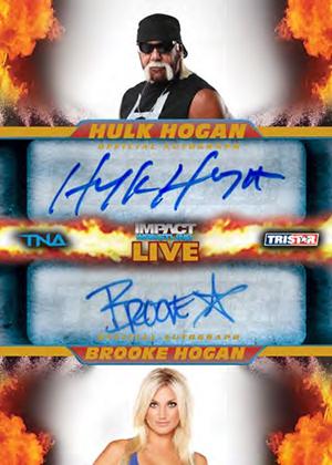 2013 Tristar TNA Impact Live Wrestling Cards 22