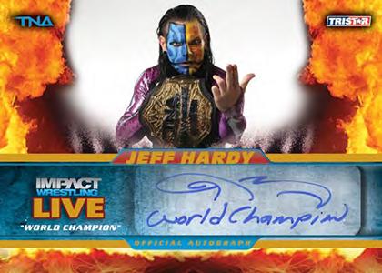 2013 Tristar TNA Impact Live Wrestling Cards 21