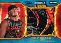 2013 Tristar TNA Impact Live Wrestling Cards 25