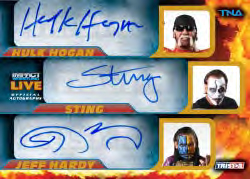 2013 Tristar TNA Impact Live Wrestling Cards 23
