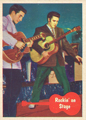 1956 Topps Elvis Presley Trading Cards 22