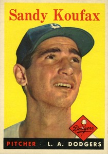 Top 10 Sandy Koufax Baseball Cards 6