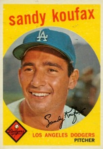Top 10 Sandy Koufax Baseball Cards 5