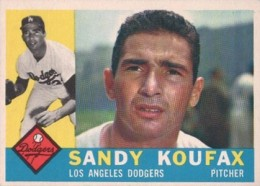 Sandy Koufax Cards - Vintage Baseball Card Timeline 6
