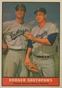 Sandy Koufax Cards - Vintage Baseball Card Timeline 9