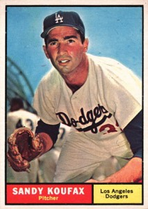 Top 10 Sandy Koufax Baseball Cards 4
