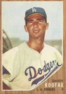 Sandy Koufax Cards - Vintage Baseball Card Timeline 10